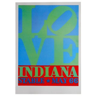 Vintage Poster Lithograph by Robert Indiana