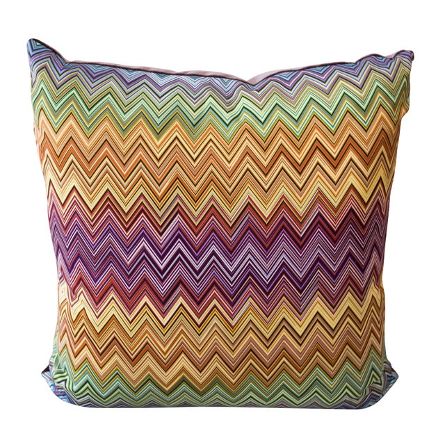 Missoni Fabric: Missoni Fabric Pillows - A Pair