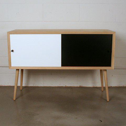Via Cph Soaped Oak Danish Sideboard / Cabinet - Image 2 of 6