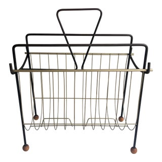 Tony Paul Mid Century Magazine Rack