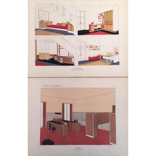 Original French Art Deco Design Planches - Set of 2