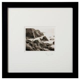 Platinum Print - Garrapata Beach Ca by Ryuijie