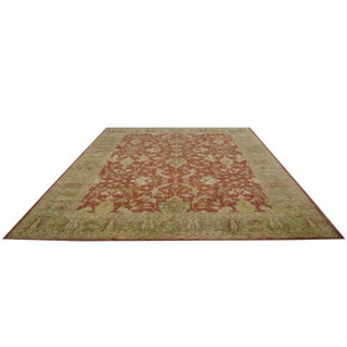 Traditional Hand Made Knotted Rug - 12′5″ × 15′8″