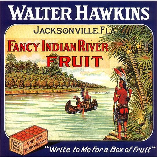 Fancy indian river fruit jacksonville florida vintage for Mitchell s fish market jacksonville fl