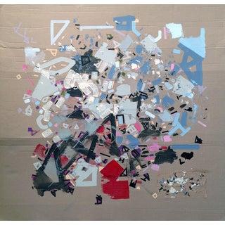 Behind the Mount Hoppe by Philippe Halaburda (Original Acrylic Painting on Cardboard)