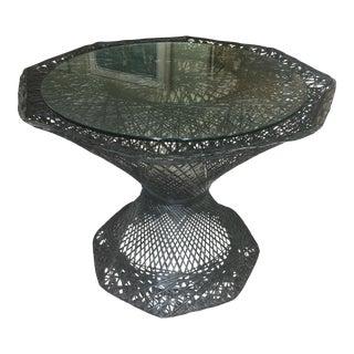 Spun Aluminum Mid-Century Table - Russell Woodard