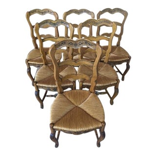 Pierre Deux French Country Dining Chairs - 6