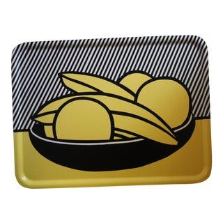 Roy Lichtenstein Banana & Grapefruits Tray