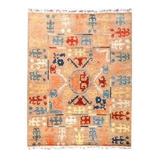 "Tullu Hand Knotted Area Rug - 6' 7"" X 8' 7"""