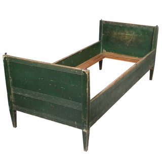 19th-C. Swedish Gustavian-Style Twin Bed