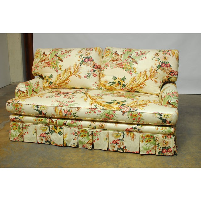 Brunschwig & Fils French Upholstered Toile Sofa - Image 3 of 10