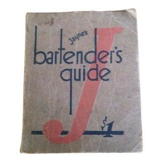 1934 Paperback Bartender's Guide