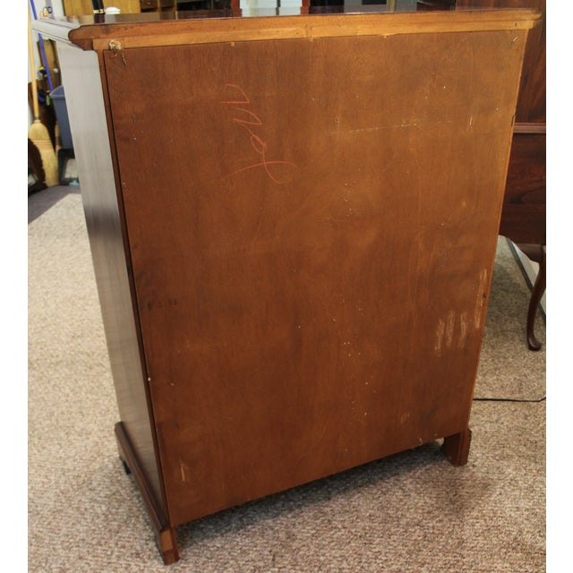 Image of Cresent Chippendale Chest