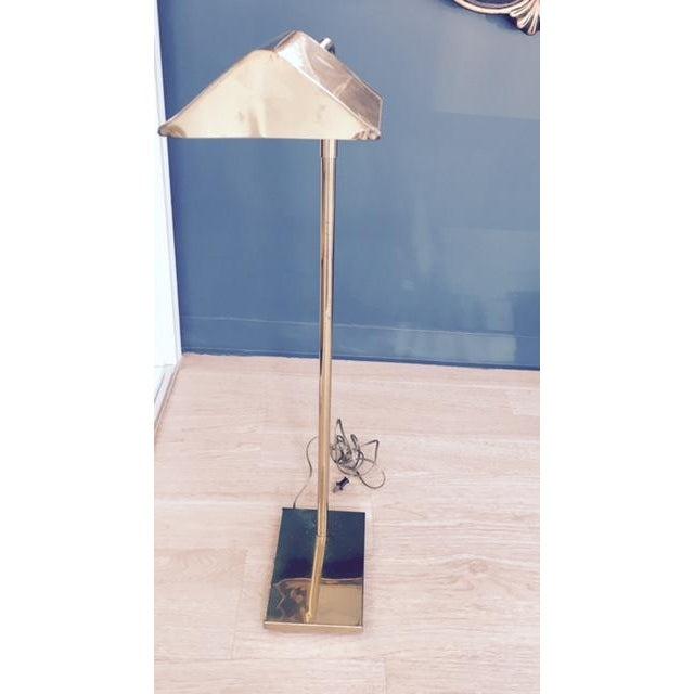 Mid-Century Koch & Lowy Adjustable Floor Lamp - Image 3 of 9