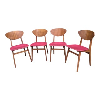 Mid-Century Remploy Dining Chairs -Set of 4