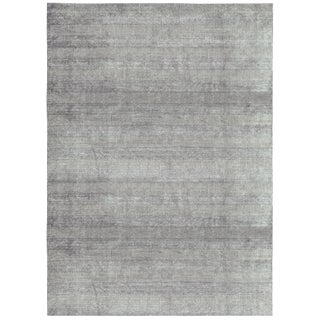 "Contemporary Hand Loomed Rug - 9'9"" x 13'9"""