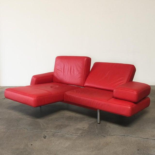 De Sede Ds-460 Multifunctional Sofa Red - Image 8 of 11