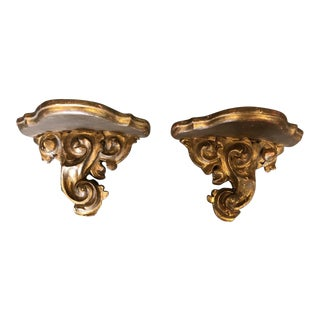 19th Century Italian Wall Brackets - A Pair