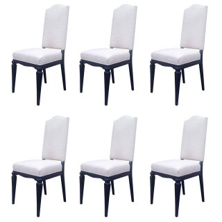 Dining Chairs Att. To André Arbus - Set of 6