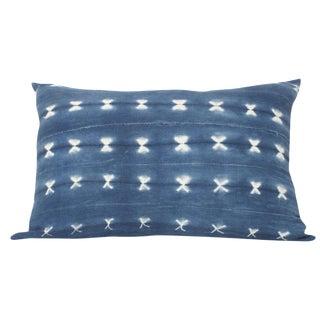 Indigo Dyed Rectanglular Pillow