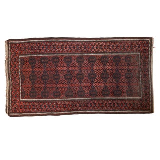"Antique Belouch Rug - 3'9"" x 6'11"""