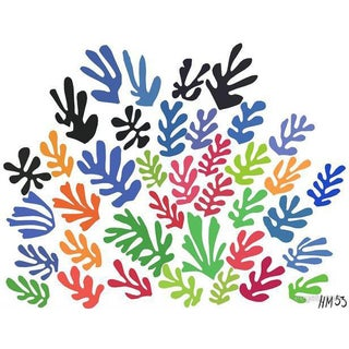 "Matisse ""Spray of Leaves"" Serigraph"