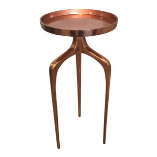 Blakely Large Copper Side Table
