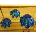 Image of Empoli Italy Graduated Art Glass Bowls - Set of Three