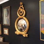 Image of Regency Style Gold Serpent Mirror