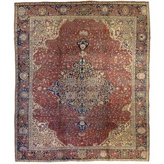 Antique Persian Fereghan Carpet