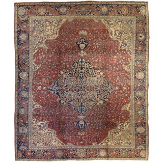 Antique Persian Fereghan Carpet