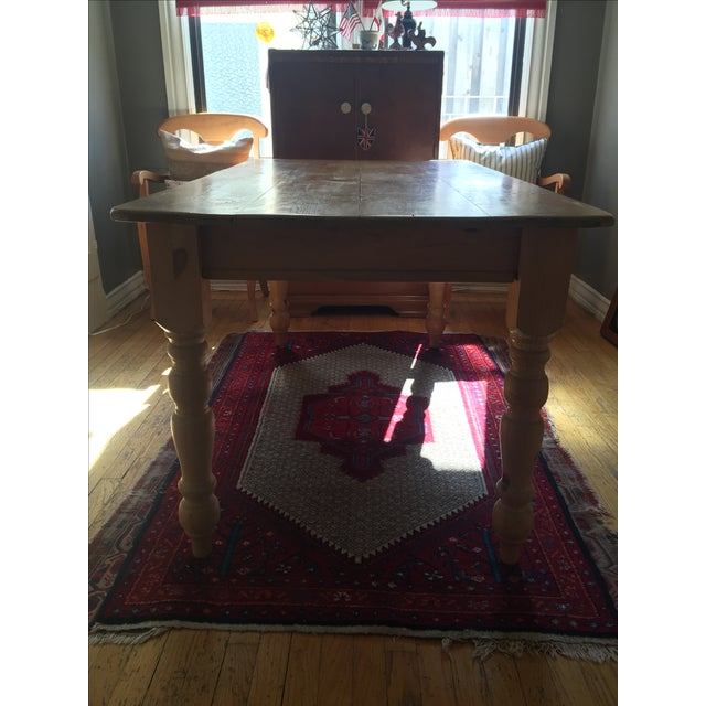 Pottery Barn Dining Table - Image 3 of 10