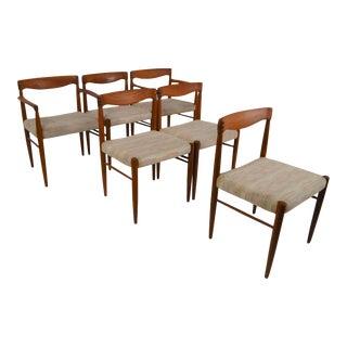 Bramin Danish Modern Teak Dining Chairs - Set of 6