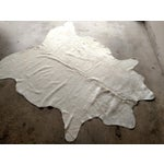 "Image of Gambrell Renard White Cowhide Rug - 6'6"" x 7'"