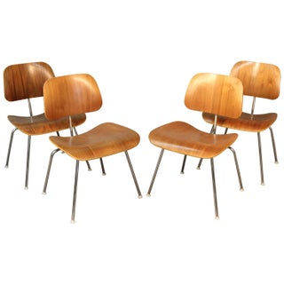 Eames DCM Chairs for Herman Miller - Set of 4