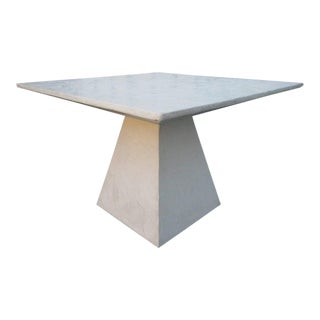 Decorative Plaster Faux Bois Center Table in the Manner of John Dickinson