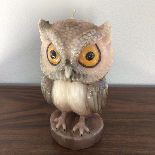 Vintage Owl Candle - Image 3 of 11