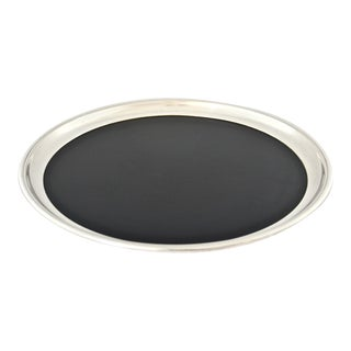 1940s Round Silver Plate Tray