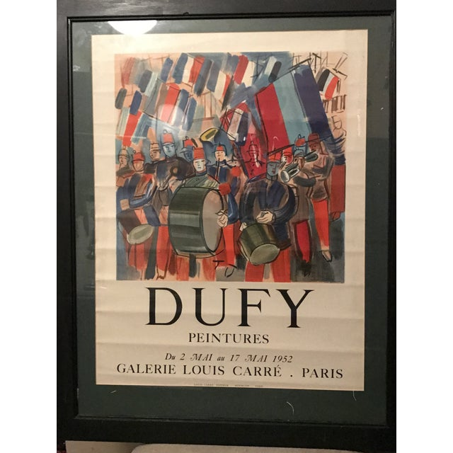 Mourlot & Raoul Dufy 1952 Exhibition Poster - Image 7 of 7