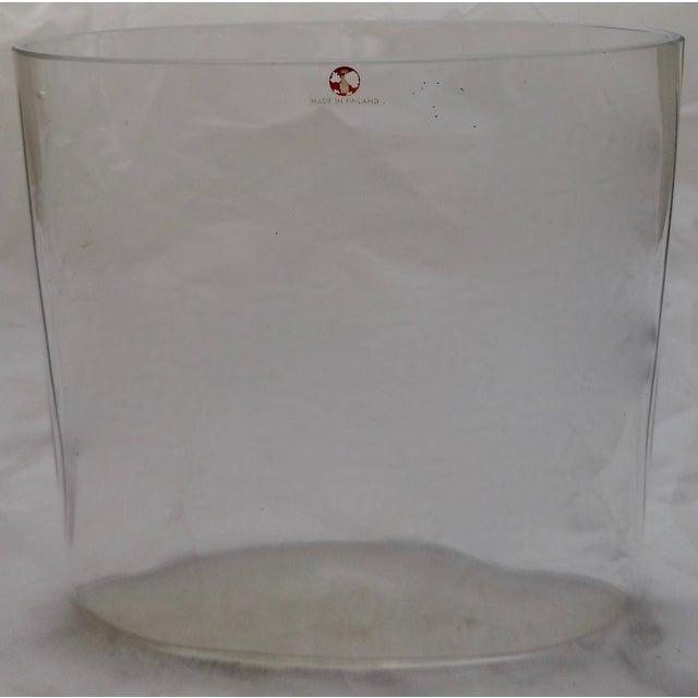 Signed Tapio Wirkkala Glass Vase From Finland - Image 8 of 8