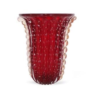 Monumental Mid-Century Modern Barovier & Toso Vase