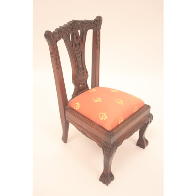 Chippendale-Style Doll Chair - Image 2 of 7