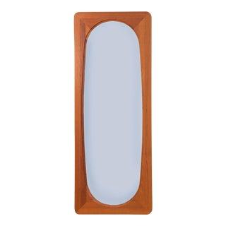 Danish Modern Full Teak Mirror