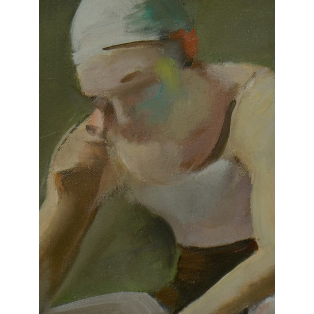 Virginia Goldberg Ballet Dancer Painting - Image 3 of 5