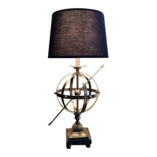 Brass Armillary Sphere Lamp