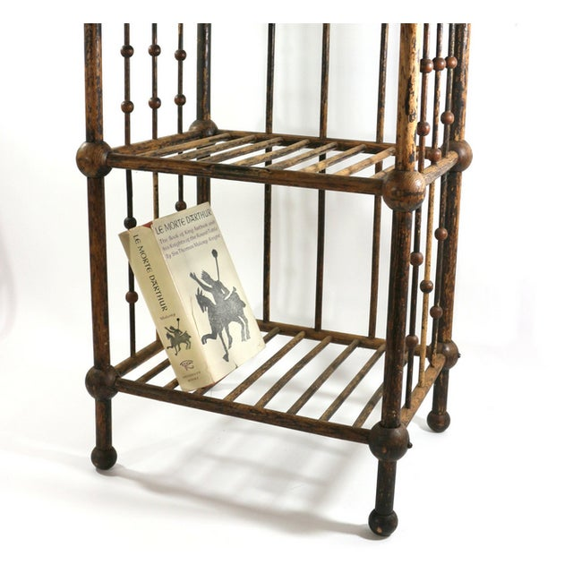 Image of Antique 1880s Magazine & Book Stand