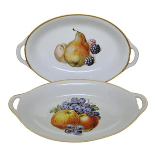 Vintage Bavarian Serving Bowls - a Pair