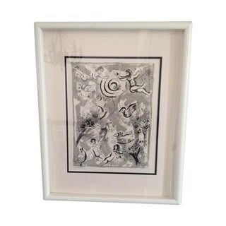 """Marc Chagall """"Bible 11 Creation"""" Lithograph"""