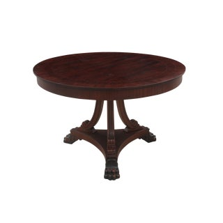 Queen Anne Style Pedestal Table