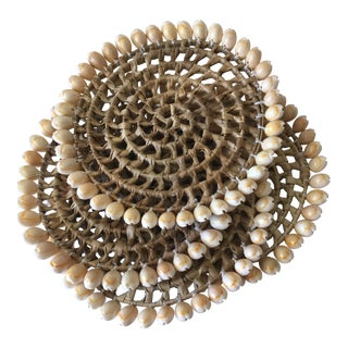 Sea Grass Shell Beach House Trivets - Set of 4